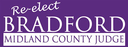Mike Bradford for Midland County Judge